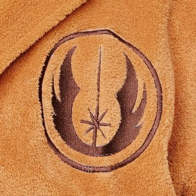 Star Wars Jedi Fleece Robe Closeup
