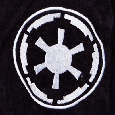 Star Wars Galactic Fleece Robe Closeup