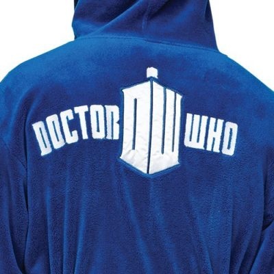 Dr Who Tardis Robe Back Detail