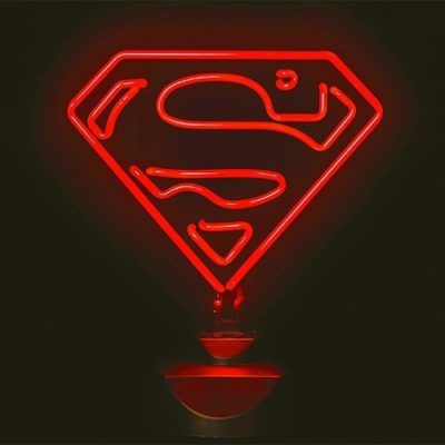 DC Superman Neon Mood Light