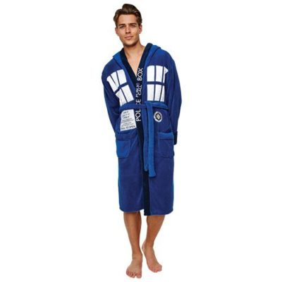 Dr Who Tardis Robe Front