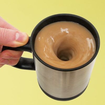 Fizz Creations Lazy Self Stirring Mug