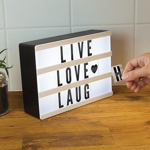 Mini Light Up Message Board Fizz Creations