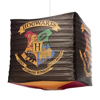 Harry Potter Hogwarts paper light shade