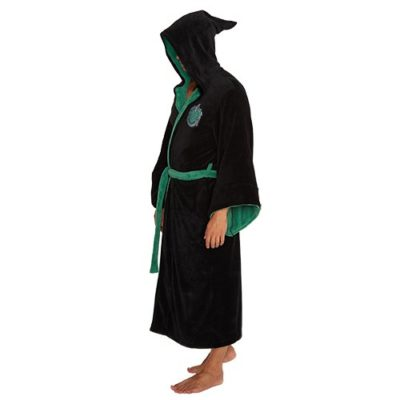 Harry Potter Slytherin Bath Robe back
