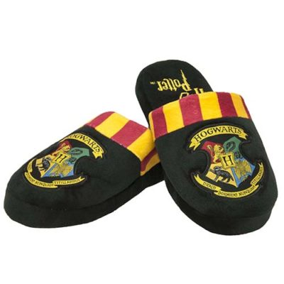 Mens Harry Potter Hogwarts Mule Slippers
