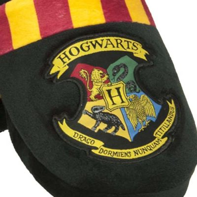 Mens Harry Potter Hogwarts Mule Slippers detail