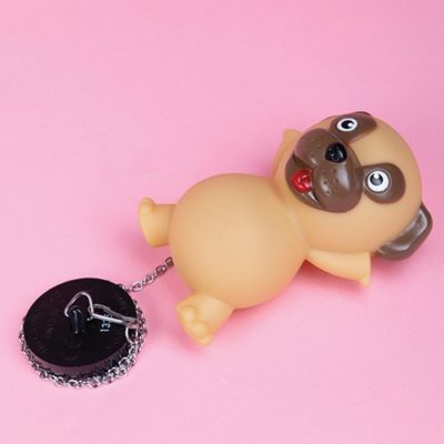Pug Bath Plug light up