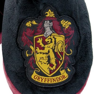 Mens Harry Potter Gryffindor Mule Slippers detail