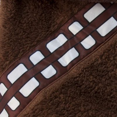Star Wars Chewbacca Christmas Stocking Closeup