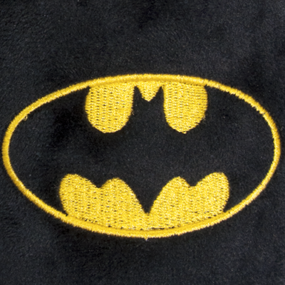 DC Batman Slippers Large Closeup