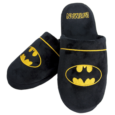 DC Batman Slippers Large