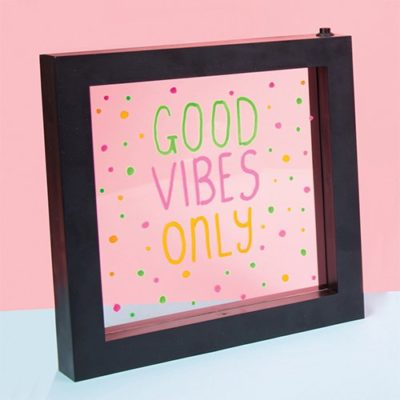 Fizz Creations Neon Writing Frame