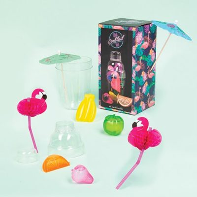 Fizz Creations Mini Cocktail set Box & Contents