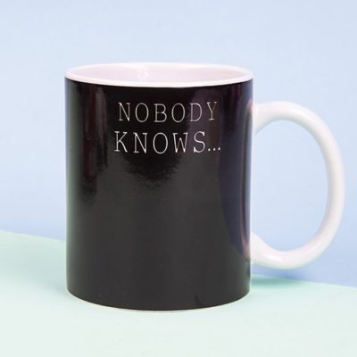 Fizz Creations Nobody Knows I'm Gay heat changing mug black