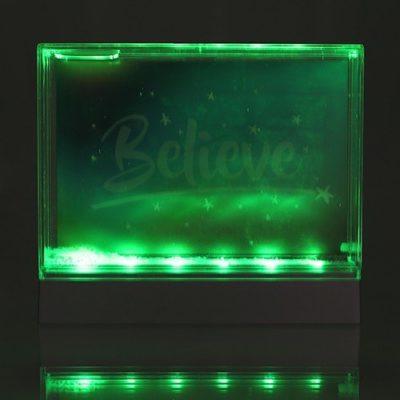 Fizz Creations Light Up Glitter Frame