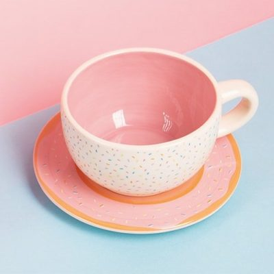 Fizz Creations Doughnut cup and saucer