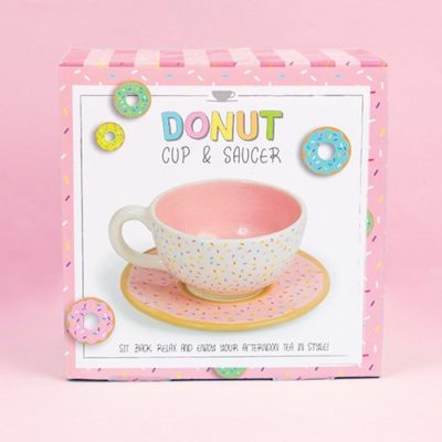 Donut Cup & Saucer