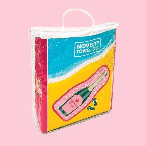 Prosecco Beach Towel Fizz Creations
