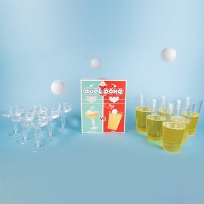 Fizz Creations Duel Pong Product and Packaging