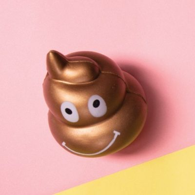 Fizz Creations Gold Poo Stress Ball
