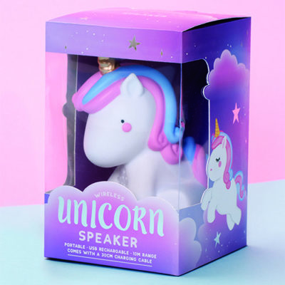 Fizz Unicorn Wireless Speaker Box