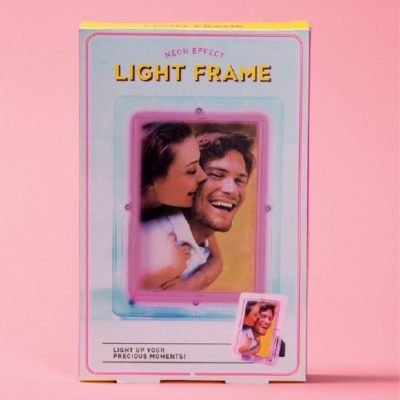 Fizz Creations Neon Effect Light Frame Packaging