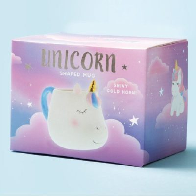 Fizz Creations Unicorn Shaped Mug Packaging