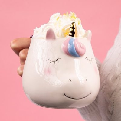 Fizz Creations Unicorn Shaped Mug