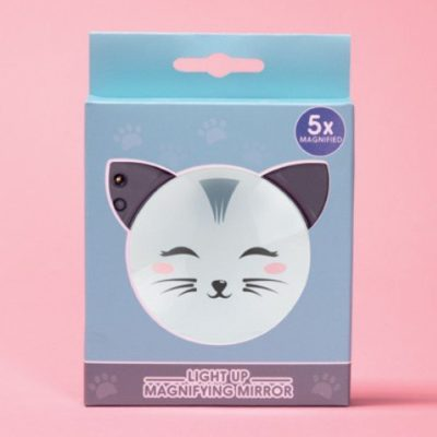 Fizz Creations Cat Light Up Mirror Packaging