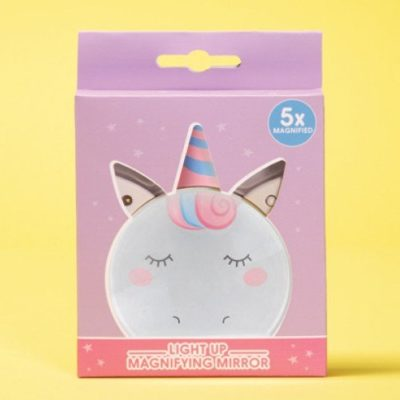 Fizz Creations Unicorn Light Up Mirror Packaging