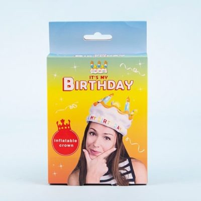 Fizz Creations Inflatable Birthday Crown Pack