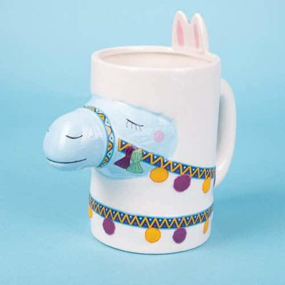 Fizz Creations Happy Llama Head Mug