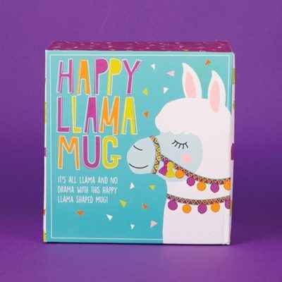 Fizz Creations Happy Llama Mug Packagaing