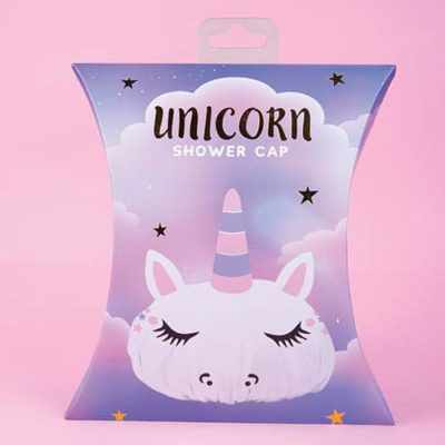 Fizz Creations Unicorn Shower Cap pack