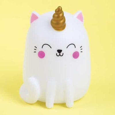 Colour changing kittcorn mood light