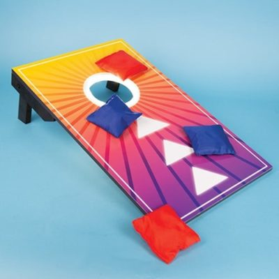 Summer Nights Light Up Bean Bag Toss game