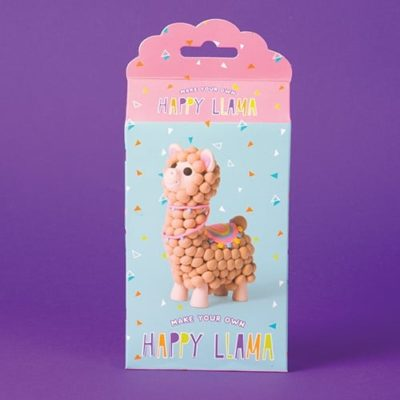 Fizz Creations Make Your Own Happy Llama Dough Character