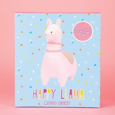 Fizz Creations Light Up Llama mood light packaging