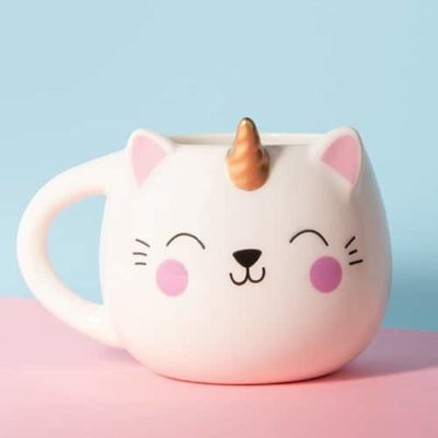 Fizz Creations Kittycorn Mug