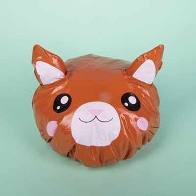 Kawaii Cat shower cap