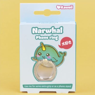 Fizz Creations Kawaii Narwhal Phone Ring