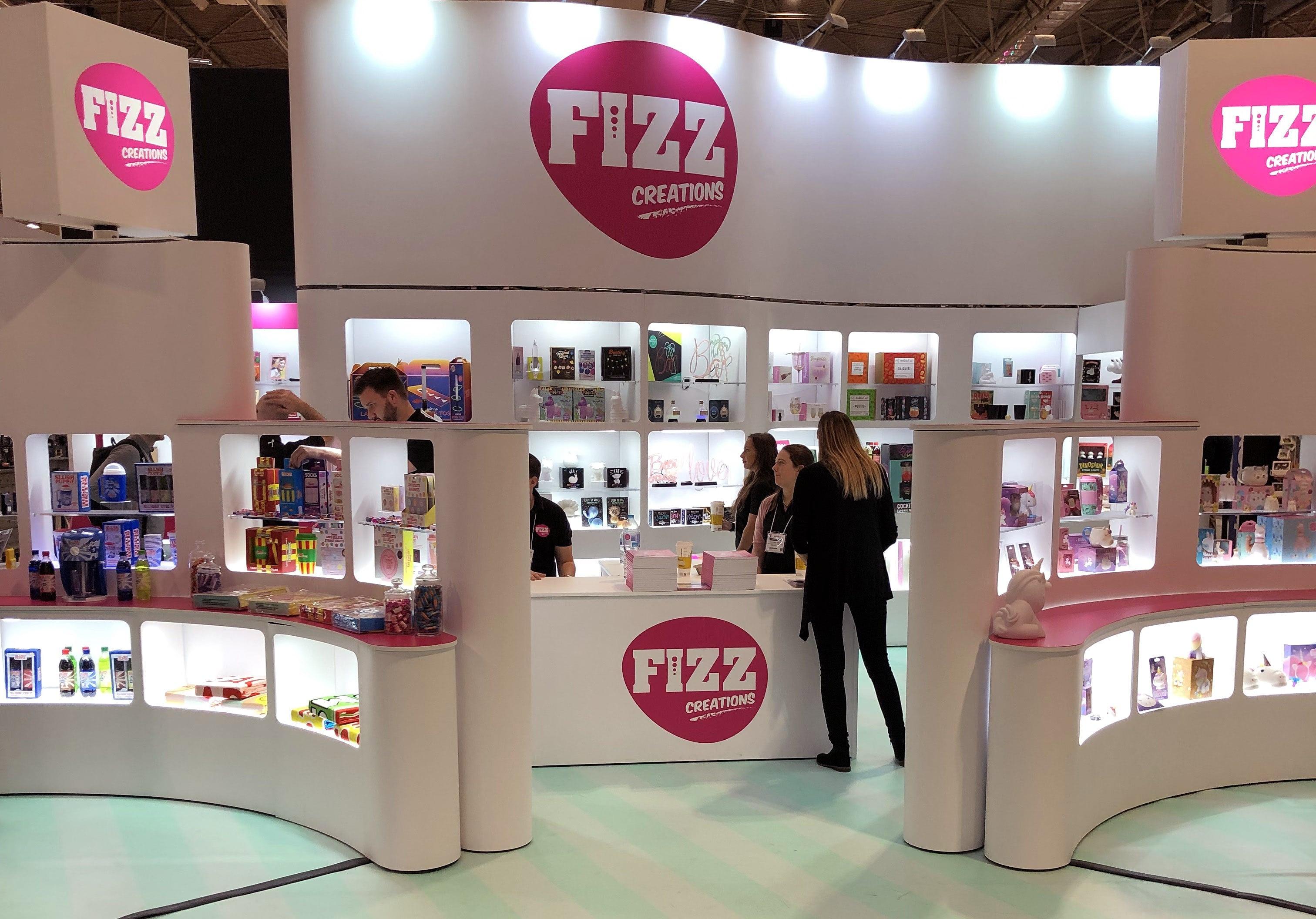 Fizz Show Stand Spring Fair 2018