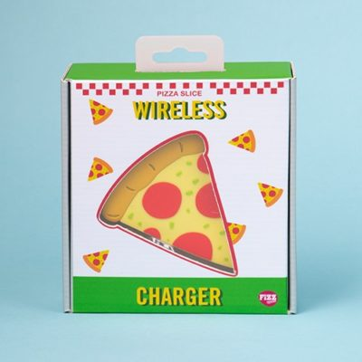 Fizz Wireless Charger Pizza Design Box