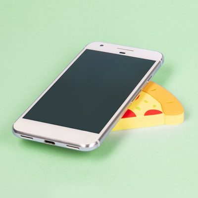 Fizz Creations Wireless Charger Pizza Slice