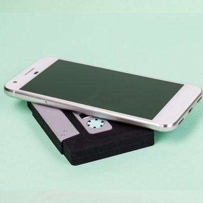 Fizz Creations Wireless Charger Cassette Tape