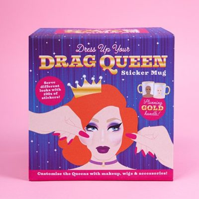 Fizz Creations Dress your own drag queen mug