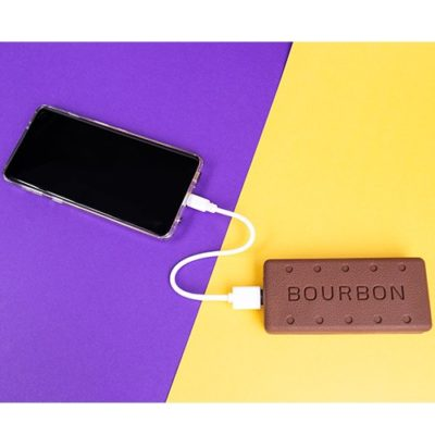 Bourbon Biscuit phone charger power bank