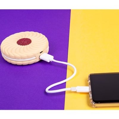 Jammy ring phone charger power bank