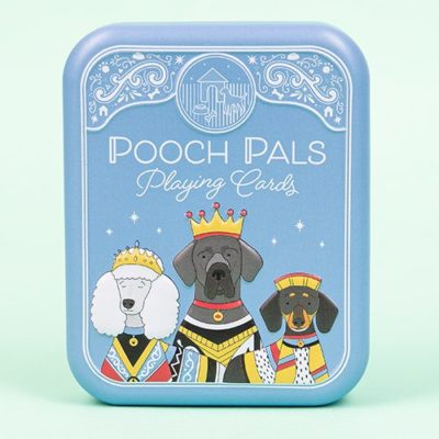 Fizz Creations Pooch Pals Dog Playing cards in a tin